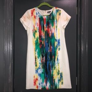 Vince camuto abstract dress
